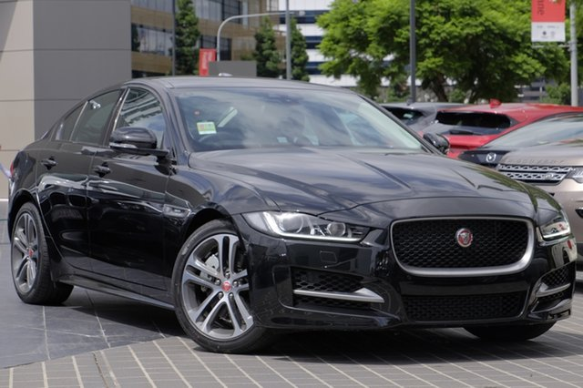 Demonstrator, Demo, Near New Jaguar XE 25t R-Sport, Newstead, 2016 Jaguar XE 25t R-Sport Sedan