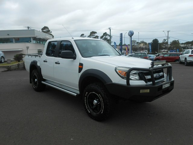 Used Ford Ranger XL Crew Cab, Nowra, 2010 Ford Ranger XL Crew Cab Utility