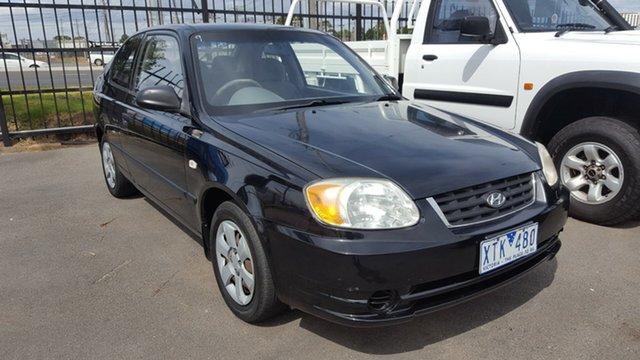 Used Hyundai Accent GL, Cheltenham, 2003 Hyundai Accent GL Hatchback
