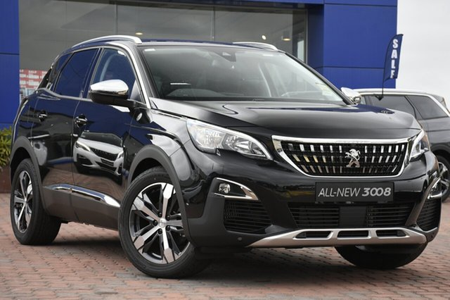 Discounted Demonstrator, Demo, Near New Peugeot 3008 Crossway SUV, Warwick Farm, 2018 Peugeot 3008 Crossway SUV SUV