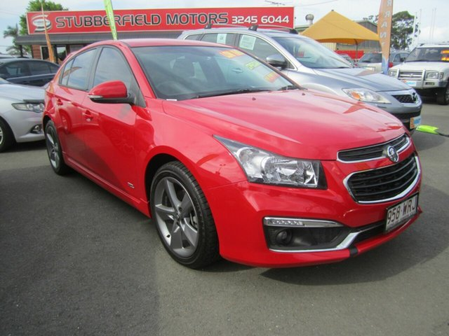 Used Holden Cruze Z Series, Capalaba, 2016 Holden Cruze Z Series Hatchback