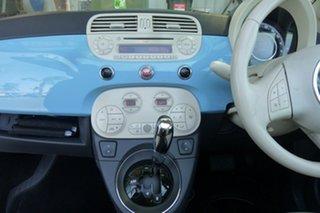 2013 Fiat 500C Lounge Dualogic Convertible.