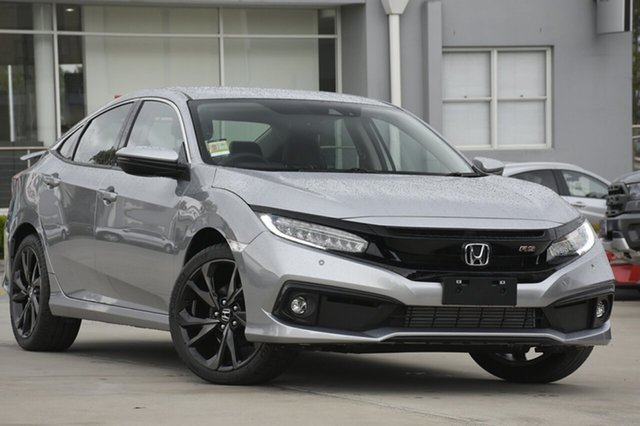 Demonstrator, Demo, Near New Honda Civic RS, Southport, 2018 Honda Civic RS Hatchback