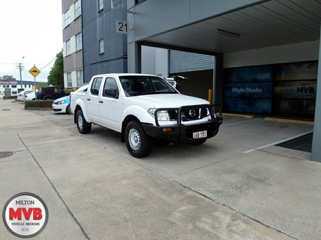 Used Nissan Navara RX (4x4), Eagle Farm, 2011 Nissan Navara RX (4x4) Dual Cab Pick-up