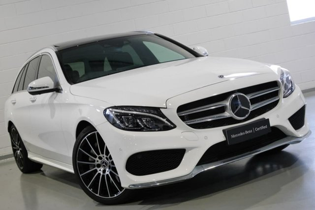 Used Mercedes-Benz C300 Estate 9G-Tronic, Narellan, 2018 Mercedes-Benz C300 Estate 9G-Tronic Wagon
