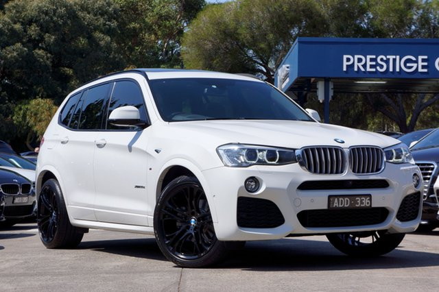 Used BMW X3 xDrive30d Steptronic, Balwyn, 2014 BMW X3 xDrive30d Steptronic Wagon