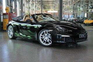 2013 Porsche Boxster Roadster.