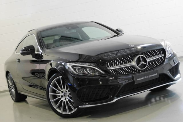 Used Mercedes-Benz C200 9G-Tronic, Warwick Farm, 2018 Mercedes-Benz C200 9G-Tronic Coupe