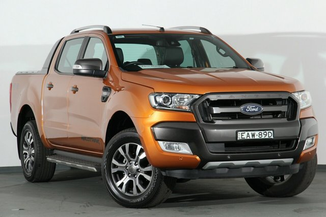 Used Ford Ranger Wildtrak Double Cab, Campbelltown, 2017 Ford Ranger Wildtrak Double Cab Utility