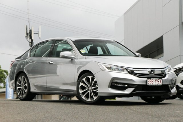 Demonstrator, Demo, Near New Honda Accord VTi-L, Indooroopilly, 2018 Honda Accord VTi-L Sedan