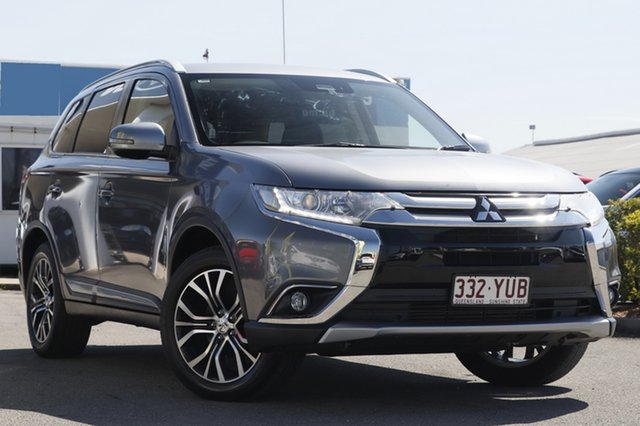 Used Mitsubishi Outlander LS 4WD Safety Pack, Bowen Hills, 2016 Mitsubishi Outlander LS 4WD Safety Pack Wagon