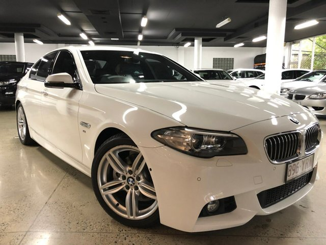 Used BMW 520d M Sport Steptronic, Albion, 2015 BMW 520d M Sport Steptronic Sedan