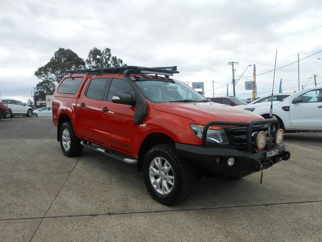 Used Ford Ranger Wildtrak Double Cab, Nowra, 2013 Ford Ranger Wildtrak Double Cab Utility