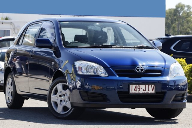 Used Toyota Corolla Ascent, Bowen Hills, 2006 Toyota Corolla Ascent Hatchback
