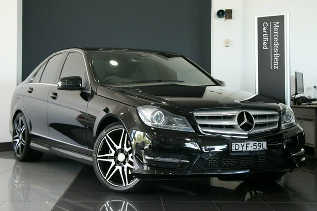 Used Mercedes-Benz C250 Avantgarde 7G-Tronic +, Southport, 2013 Mercedes-Benz C250 Avantgarde 7G-Tronic + Sedan