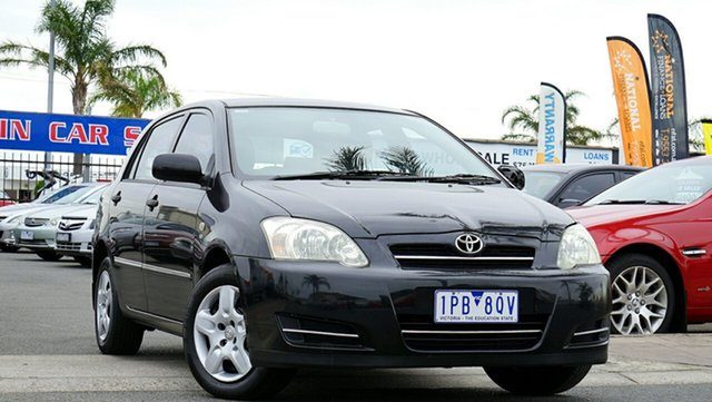 Used Toyota Corolla Ascent, Cheltenham, 2005 Toyota Corolla Ascent Hatchback