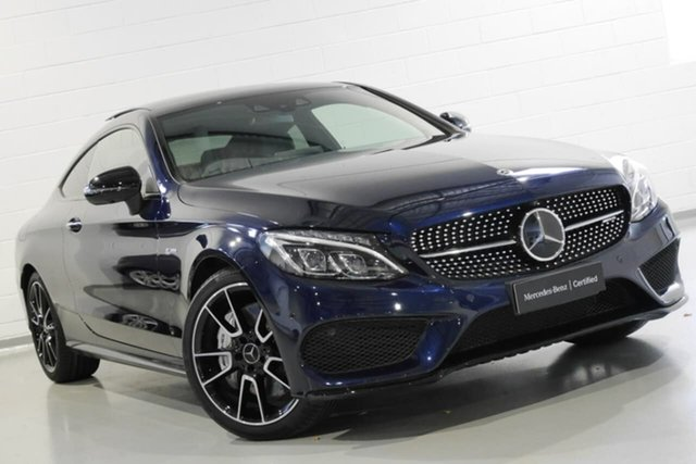 Used Mercedes-Benz C43 AMG 9G-Tronic 4MATIC, Warwick Farm, 2017 Mercedes-Benz C43 AMG 9G-Tronic 4MATIC Coupe