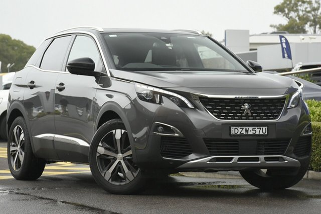 Discounted Demonstrator, Demo, Near New Peugeot 3008 GT Line SUV, Warwick Farm, 2018 Peugeot 3008 GT Line SUV SUV