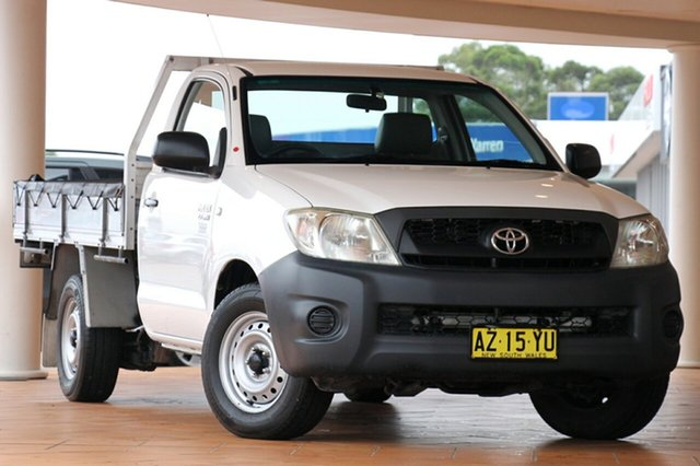 Discounted Used Toyota Hilux Workmate 4x2, Warwick Farm, 2008 Toyota Hilux Workmate 4x2 Utility