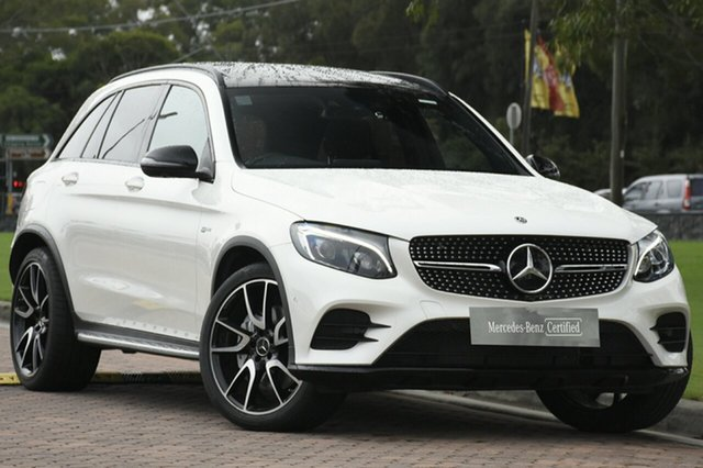 Discounted Used Mercedes-Benz GLC43 AMG 9G-Tronic 4MATIC, Warwick Farm, 2018 Mercedes-Benz GLC43 AMG 9G-Tronic 4MATIC SUV