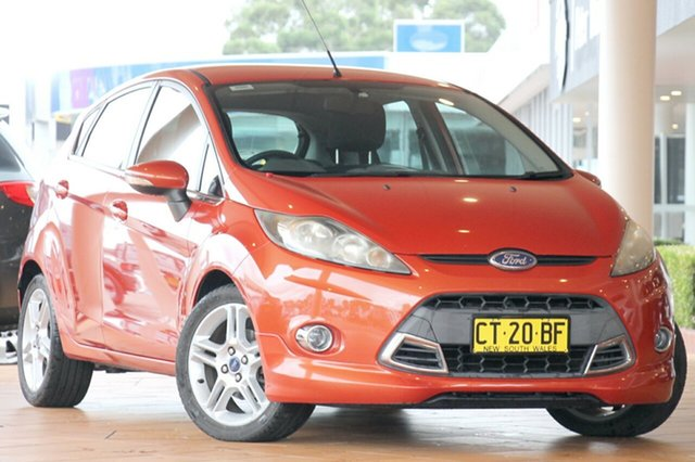 Discounted Used Ford Fiesta Zetec PwrShift, Warwick Farm, 2011 Ford Fiesta Zetec PwrShift Hatchback