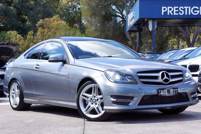 Used Mercedes-Benz C250 CDI 7G-Tronic, Balwyn, 2014 Mercedes-Benz C250 CDI 7G-Tronic Coupe