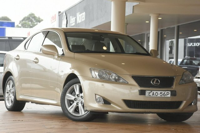 Discounted Used Lexus IS250 Prestige, Narellan, 2008 Lexus IS250 Prestige Sedan