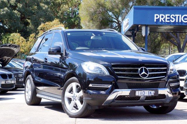 Used Mercedes-Benz ML250 BlueTEC 7G-Tronic +, Balwyn, 2013 Mercedes-Benz ML250 BlueTEC 7G-Tronic + Wagon
