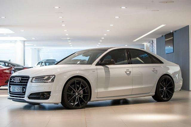 Used Audi S8 plus Tiptronic Quattro, Artarmon, 2016 Audi S8 plus Tiptronic Quattro Sedan