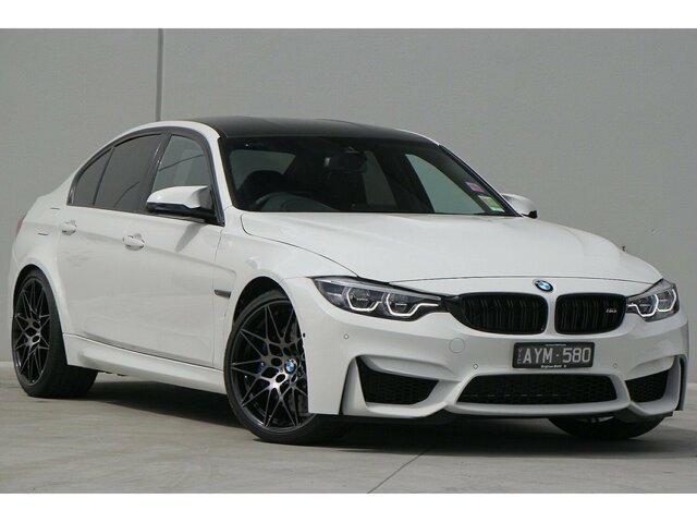 Demonstrator, Demo, Near New BMW M3 Competition M-DCT, Clayton, 2018 BMW M3 Competition M-DCT Sedan