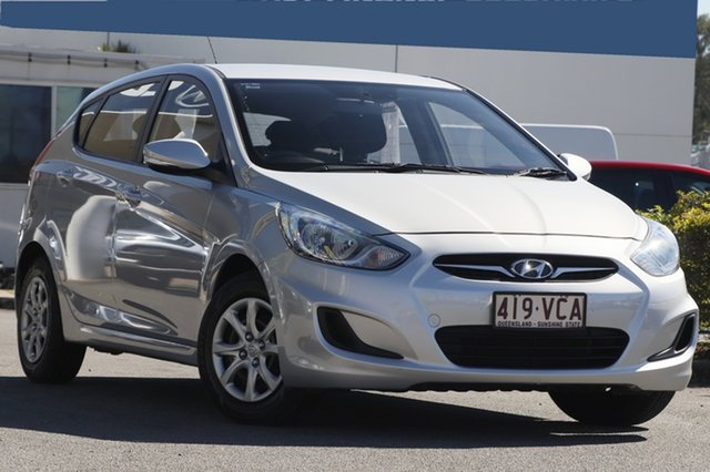 Used Hyundai Accent Active, Toowong, 2014 Hyundai Accent Active Hatchback