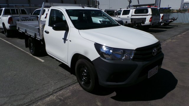 Used Toyota Hilux Workmate 4x2, Morayfield, 2016 Toyota Hilux Workmate 4x2 Cab Chassis