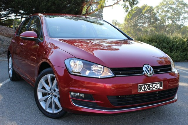 Discounted Used Volkswagen Golf 103TSI DSG Highline, Cheltenham, 2013 Volkswagen Golf 103TSI DSG Highline Hatchback