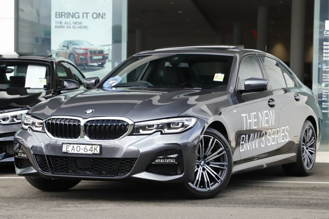 Demonstrator, Demo, Near New BMW 320d M Sport, Brookvale, 2019 BMW 320d M Sport Sedan