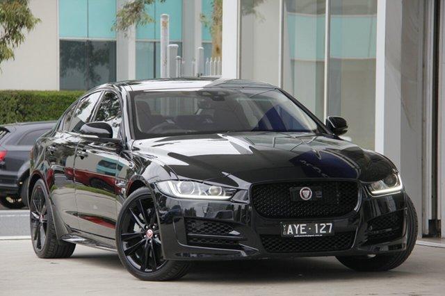 Demonstrator, Demo, Near New Jaguar XE 20t R-Sport, Port Melbourne, 2019 Jaguar XE 20t R-Sport Sedan