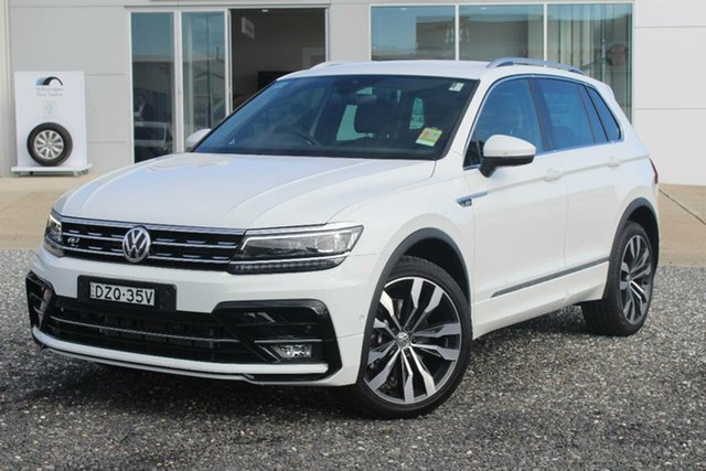 Demonstrator, Demo, Near New Volkswagen Tiguan 162 TSI Highline, Narellan, 2018 Volkswagen Tiguan 162 TSI Highline Wagon