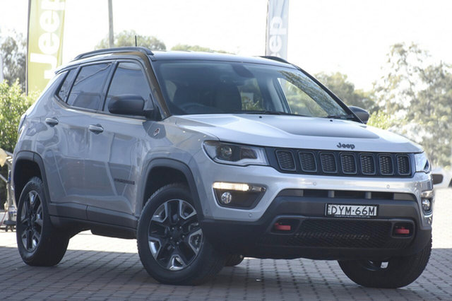 Discounted Demonstrator, Demo, Near New Jeep Compass Trailhawk, Southport, 2018 Jeep Compass Trailhawk SUV