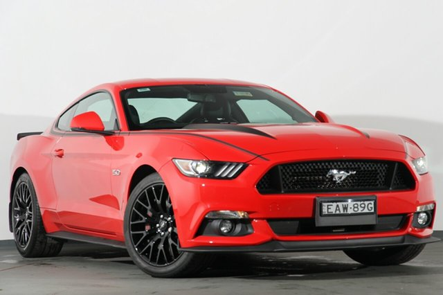 Discounted Used Ford Mustang GT Fastback SelectShift, Narellan, 2016 Ford Mustang GT Fastback SelectShift Fastback