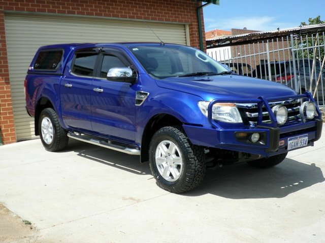 Used Ford Ranger XLT Double Cab 4x2 Hi-Rider, Mount Lawley, 2012 Ford Ranger XLT Double Cab 4x2 Hi-Rider Utility