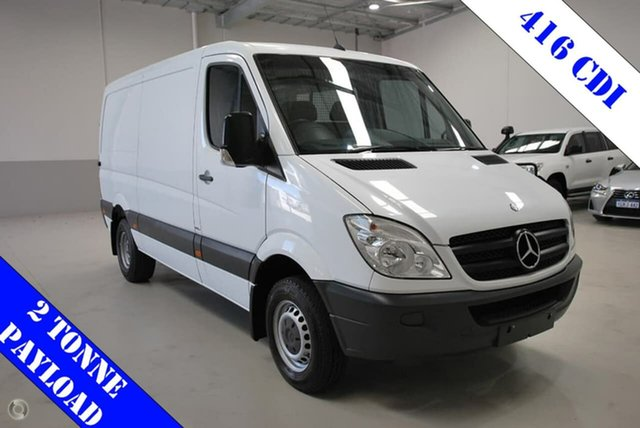 Used Mercedes-Benz Sprinter 416CDI Low Roof MWB 7G-Tronic, Kenwick, 2013 Mercedes-Benz Sprinter 416CDI Low Roof MWB 7G-Tronic Van