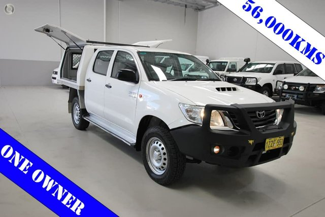 Used Toyota Hilux SR Double Cab, Kenwick, 2014 Toyota Hilux SR Double Cab Cab Chassis