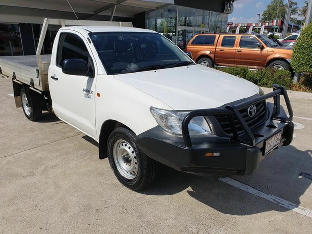 Discounted Used Toyota Hilux Workmate 4x2, Yamanto, 2013 Toyota Hilux Workmate 4x2 Cab Chassis