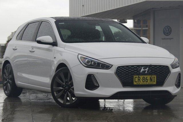 Used Hyundai i30 SR D-CT Premium, Waitara, 2017 Hyundai i30 SR D-CT Premium Hatchback