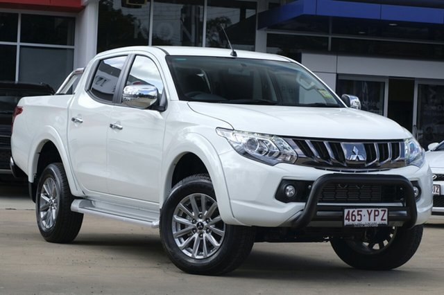 Demonstrator, Demo, Near New Mitsubishi Triton GLS Double Cab, Beaudesert, 2018 Mitsubishi Triton GLS Double Cab Utility