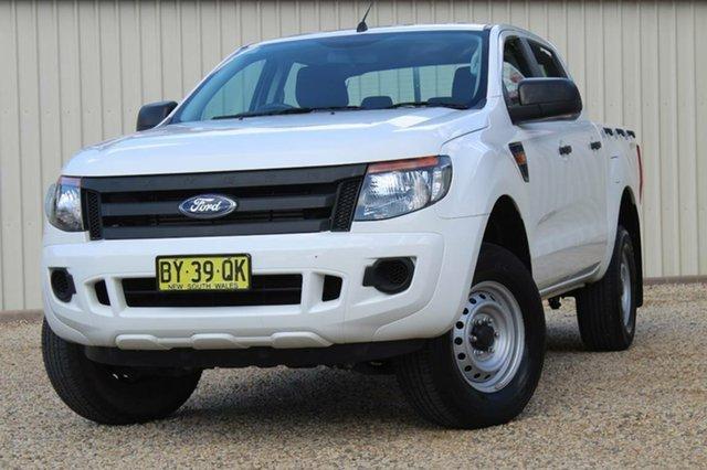 Used Ford Ranger XL 2.2 (4x2), Bathurst, 2014 Ford Ranger XL 2.2 (4x2) Cab Chassis