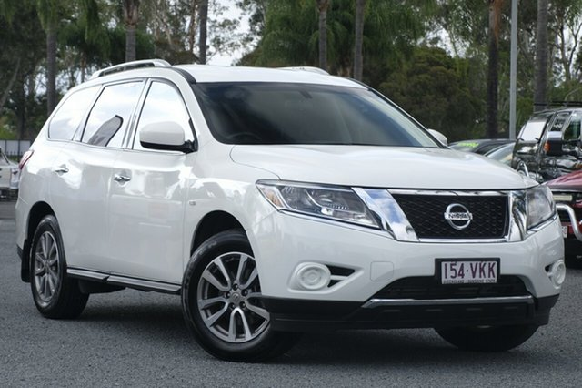 Used Nissan Pathfinder ST X-tronic 2WD, Beaudesert, 2015 Nissan Pathfinder ST X-tronic 2WD Wagon