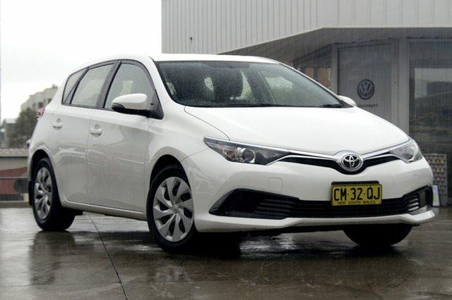 Used Toyota Corolla Ascent S-CVT, Waitara, 2017 Toyota Corolla Ascent S-CVT Hatchback