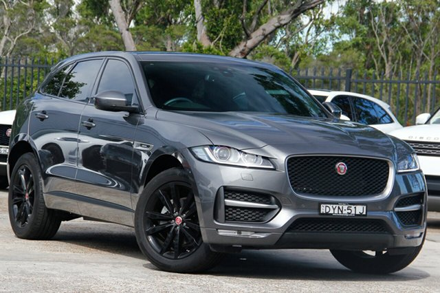 Discounted Demonstrator, Demo, Near New Jaguar F-PACE 20d AWD R-Sport, Bennetts Green, 2018 Jaguar F-PACE 20d AWD R-Sport Wagon