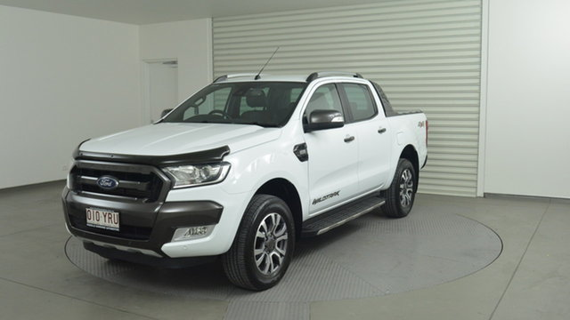 Used Ford Ranger Wildtrak Double Cab, Narellan, 2017 Ford Ranger Wildtrak Double Cab Utility