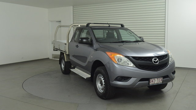 Used Mazda BT-50 XT Freestyle, Southport, 2014 Mazda BT-50 XT Freestyle Cab Chassis